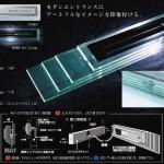LEDレイヤード縦型-LED表札